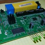OpenWRT Router TP-LINK TL-WR340GD Atheros AR2317 88E6060, AR8236, ADM6996 Flash RAM